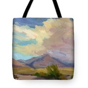 Early Morning At Thousand Palms Tote Bag