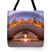 Early Morning Bean Tote Bag