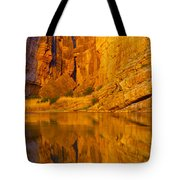 Early Morning Canyon Reflection Tote Bag