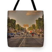 Early Morning Champes Elysees  Tote Bag