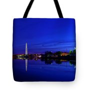 Early Morning Cherry Blossoms Tote Bag