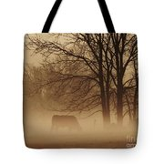 Early Morning Fog 002 Tote Bag