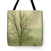 Early Morning Fog 016 Tote Bag