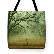 Early Morning Fog 019 Tote Bag