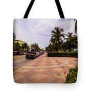 Early Morning In Miami Beach Tote Bag