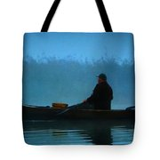 Early Morning Lake Joy  Tote Bag