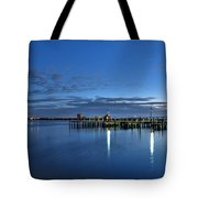 Early Morning Manatee River Tote Bag