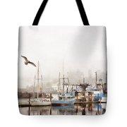 Early Morning Newport Oregon Tote Bag