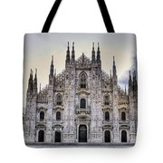Early Morning On Il Duomo Tote Bag