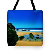 Early Morning On The Beach II Tote Bag