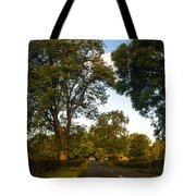 Early Morning On The Way To Trossachs. Scotland Tote Bag