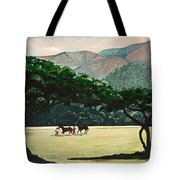 Early Morning Savannah Tote Bag
