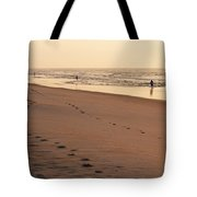 Early Morning Stroll At Litchfield Tote Bag