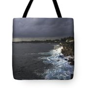 Early Morning Waves Tote Bag