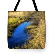 Early On A Frosty Morning Tote Bag