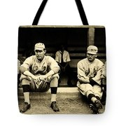 Early Red Sox Tote Bag