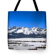 Early Spring In The Sawtooth Tote Bag