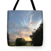Early Summer Sunrise Tote Bag