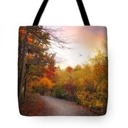 Early To Rise Tote Bag