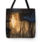 Early Winter Morning Tote Bag