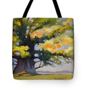 Earlysville Virginia Ancient White Oak Tote Bag