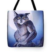 Ears Of The Werewolf Tote Bag