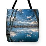 Earth And Sky Tote Bag