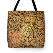 Earth And Sun Tote Bag