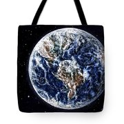 Earth Beauty Original Acrylic Painting Tote Bag