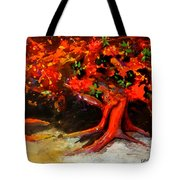 Earth Breathe Tote Bag