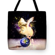 Earth Chick Tote Bag