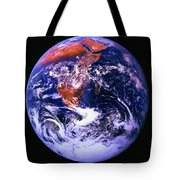 Earth From Space Centered On East Africa Tote Bag