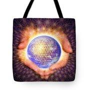 Earth Healing Tote Bag