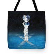 Earth Heart Holder Tote Bag