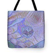 Earth In Hand Tote Bag