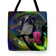 Earth Melody Tote Bag