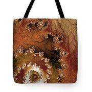 Earth Rhythms Tote Bag by Heidi Smith