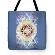 Earth Water Spirit Madonna Peace Matrix Tote Bag
