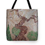 Earthen Tree Tote Bag