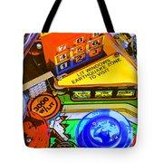 Earthquake Zone Tote Bag