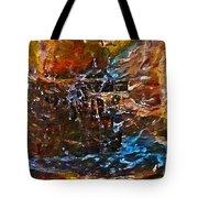 Earthy Abstract Tote Bag