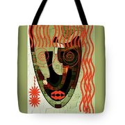 Earthy Woman Tote Bag
