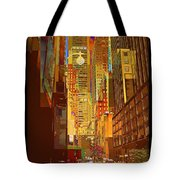 East 45th Street - New York City Tote Bag