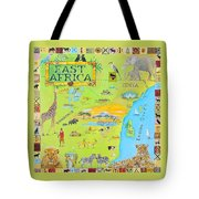 East Africa Tote Bag