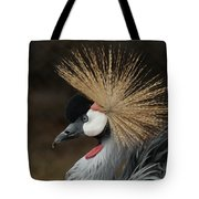East African Crowned Crane 2 Painterly Tote Bag