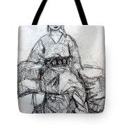 East Asian Woman Tote Bag