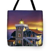 East Brother Lighthouse Tote Bag