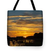 East Coast Sunset Tote Bag