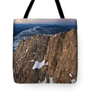 East From Mt. Evans Tote Bag