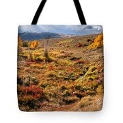 East Of Crowheart Tote Bag